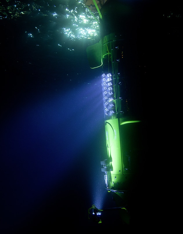 Journey to the bottom of the sea