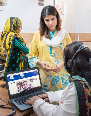 Women doctors for telemedicine in Pakistan
