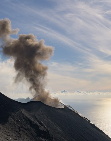 Explore remote volcanoes affecting Earth's climate